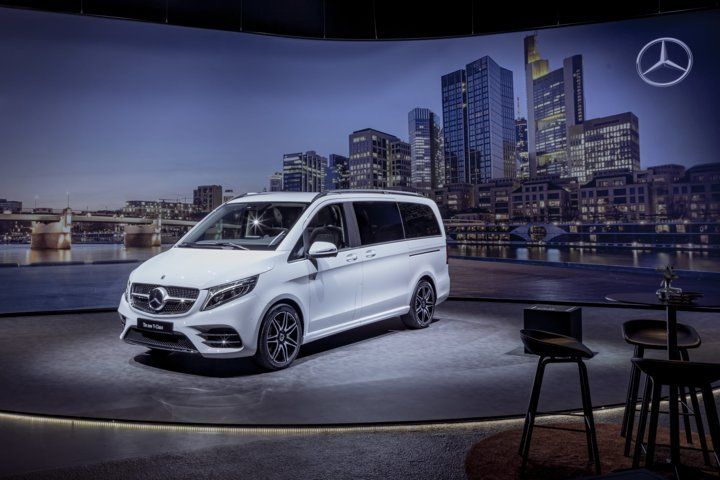 la nuova mercedes classe v ora disponibile in tutte le concessionarie truck italia