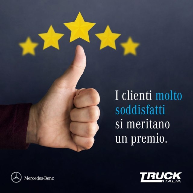 truck italia premia i suoi migliori clienti con l'iniziativa migliori client
