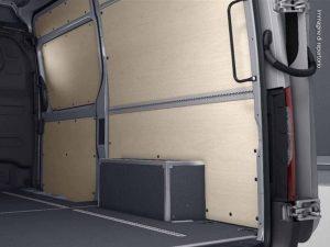 mercedes sprinter furgone interno
