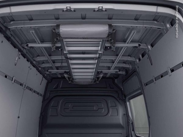 mercedes sprinter furgone portapacchi interno